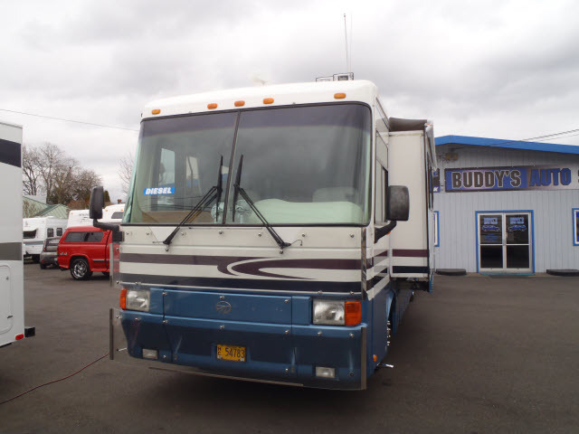 1998 Monaco Windsor 36ft Class A Mh Cummins Diesel 1 Slide Low Mile