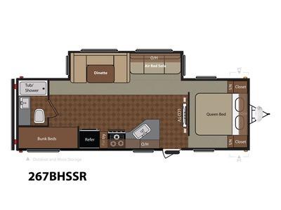 2014 Keystone Rv Springdale 267BHSSR