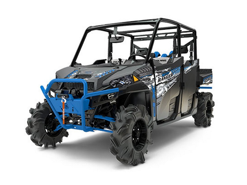 2017 Polaris RANGER CREW XP 1000 EPS High Lifter Edition Titanium Ma