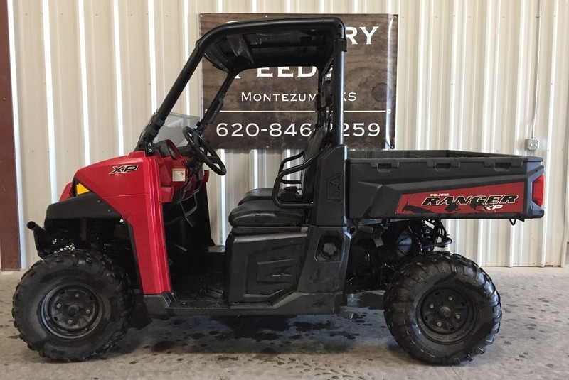 2014 Polaris Ranger XP 900 EPS Solar Red