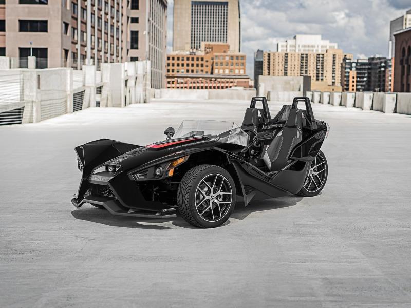 2017 Polaris Slingshot Reverse Trike SL Black Pearl
