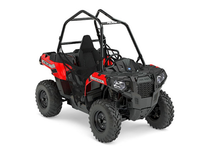 2017 Polaris ACE 500 Indy Red