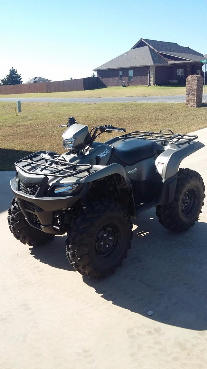 2014 Suzuki KINGQUAD 750AXI POWER STEERING LIMITED EDITION