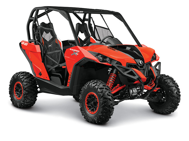 2015 Can-Am Maverick X rs DPS 1000R Can-Am Red