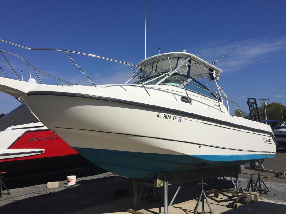 2001 Boston Whaler 26 Conquest Walk Around