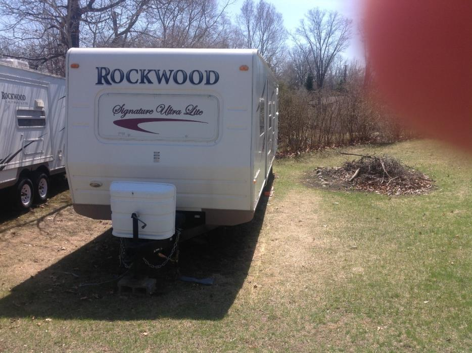 2008 Forest River ROCKWOOD SIGNATURE ULTRA 8314SS