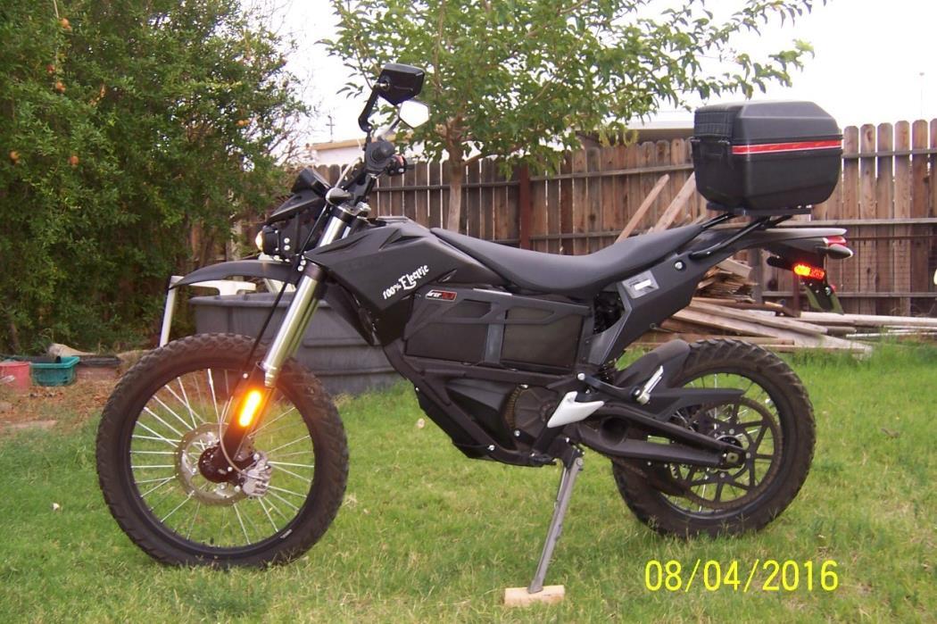 2014 Zero Motorcycles ZERO-FX