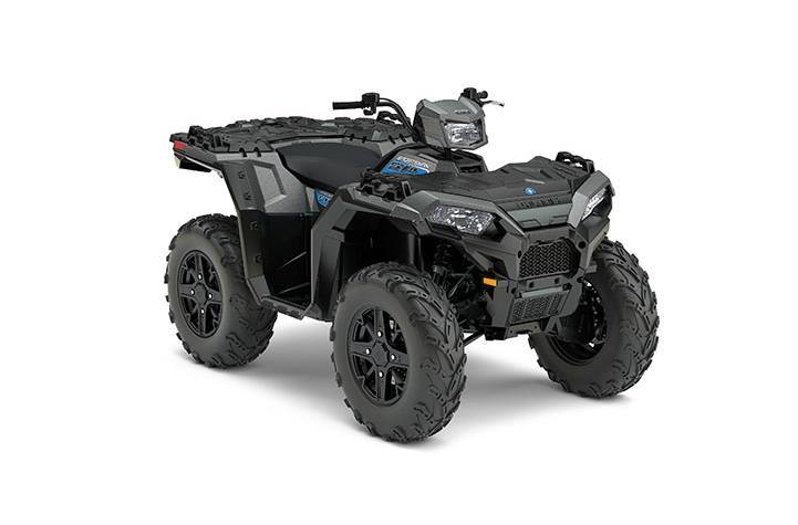 2017 Polaris SPORTSMAN 850 SP TITANIUM METALLIC