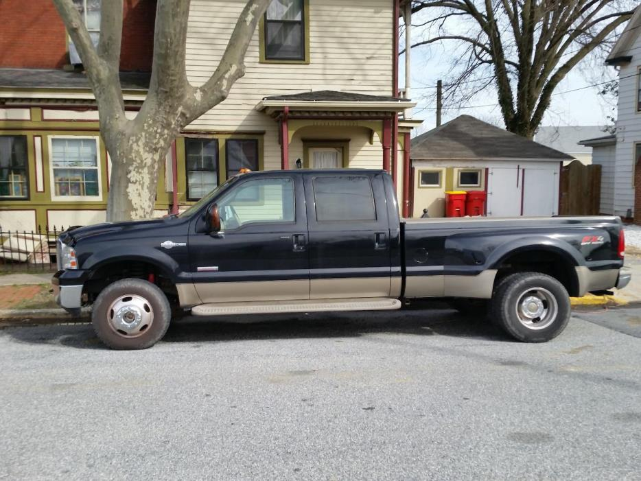 2006 Ford F350 DIESEL DOUBLE CAB