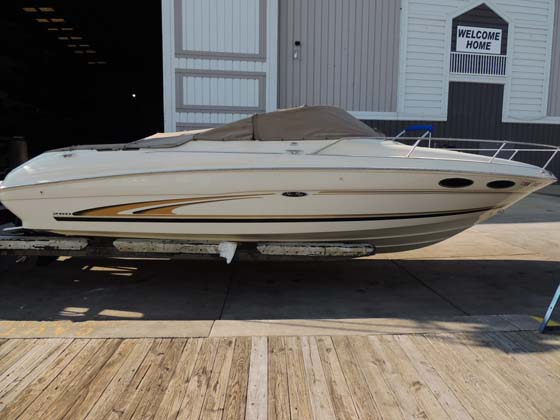 2001 Sea Ray 260 Overnighter