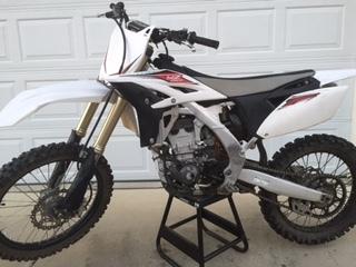 2013 Yamaha 250F