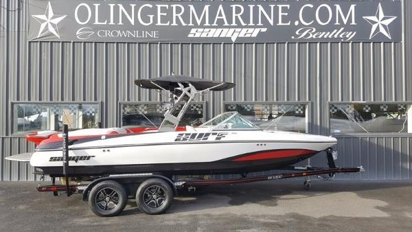 2017 Sanger Boats 215XTZ