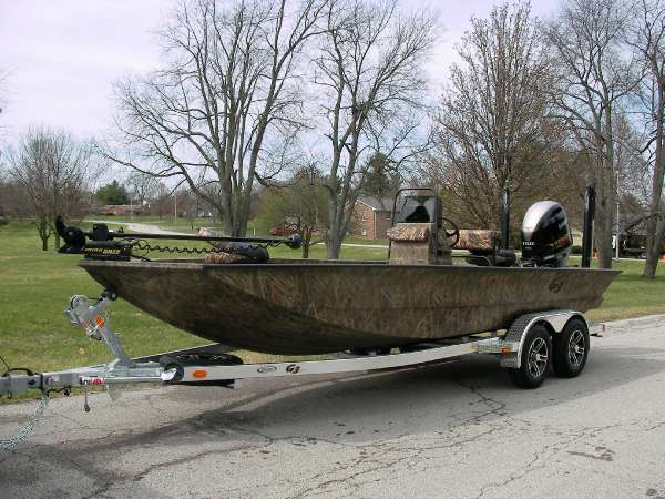G3 boats for sale in kentucky for Trolling motor for 18 foot boat