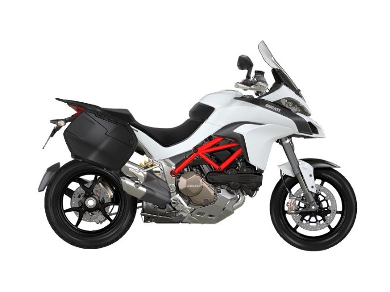 2017 Ducati Multistrada 1200 S Touring Package Iceberg white