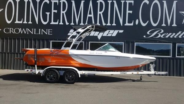 2017 Sanger Boats 215SX