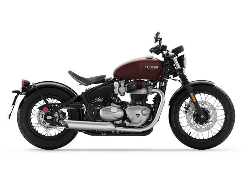 2017 Triumph Bonneville Bobber Morello-red