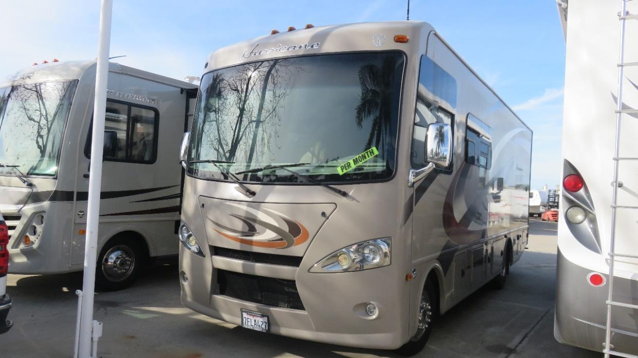 Thor motor coach hurricane 27k rvs for sale for Thor motor coach hurricane