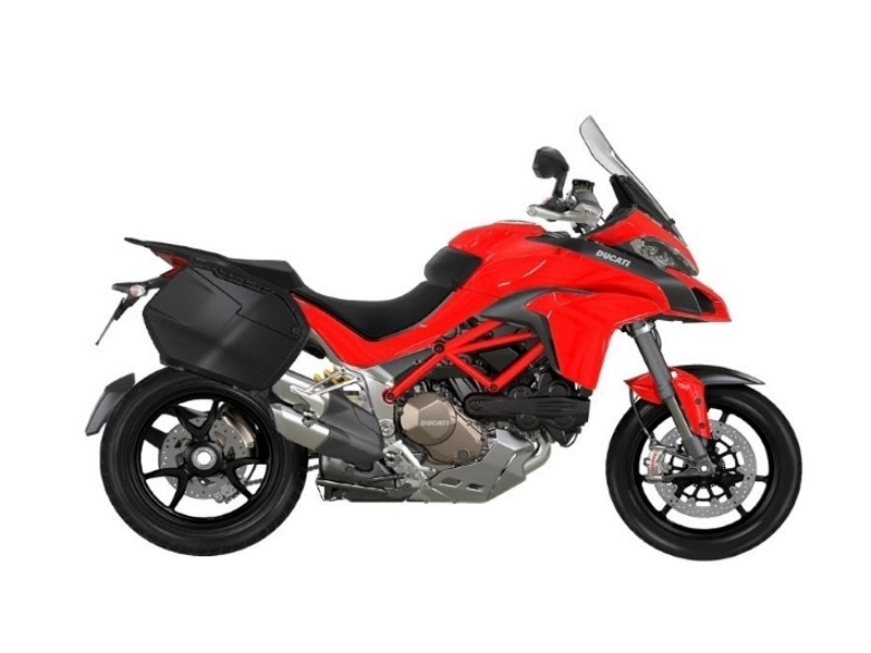 2017 Ducati Multistrada 1200 S Touring Package Red