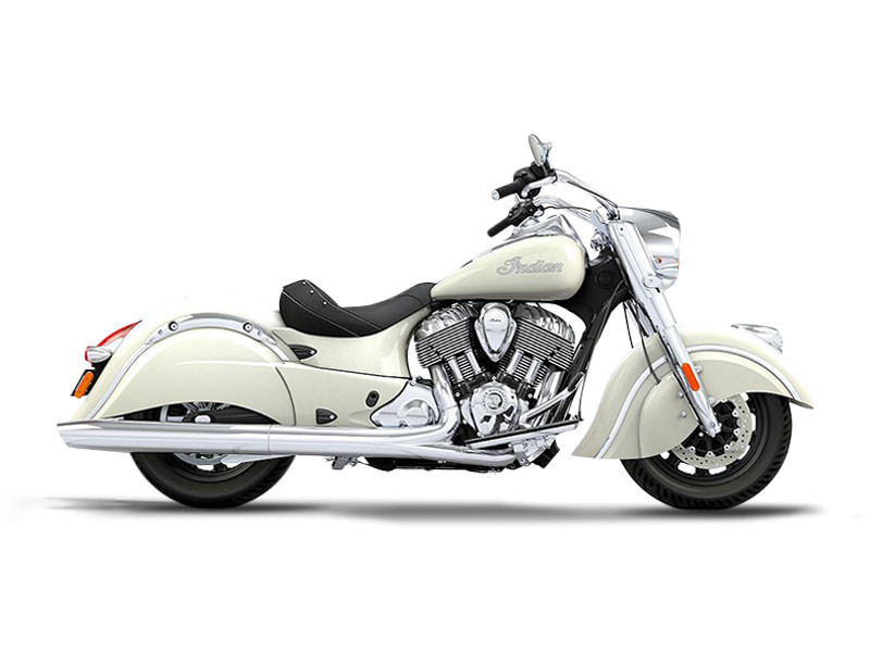 2017 Indian Chief Classic Pearl White