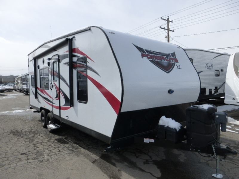 2016 Pacific Coachworks POWERLITE Powerlite Travel Trailers 21FS