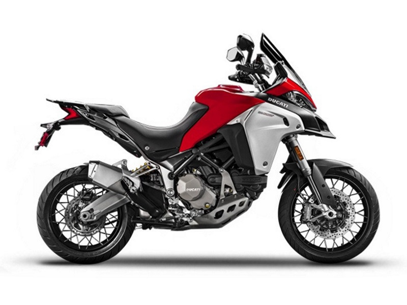 2017 Ducati Multistrada 1200 Enduro Red