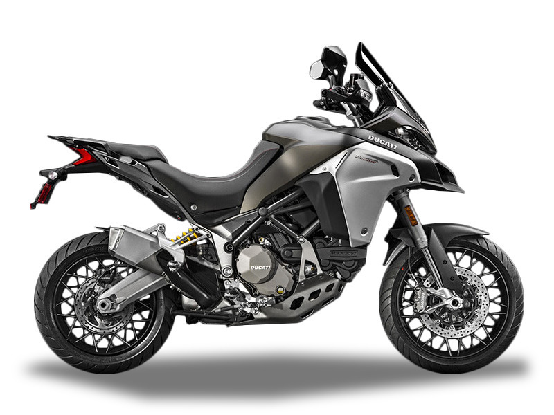 2017 Ducati Multistrada 1200 Enduro Phantom Grey