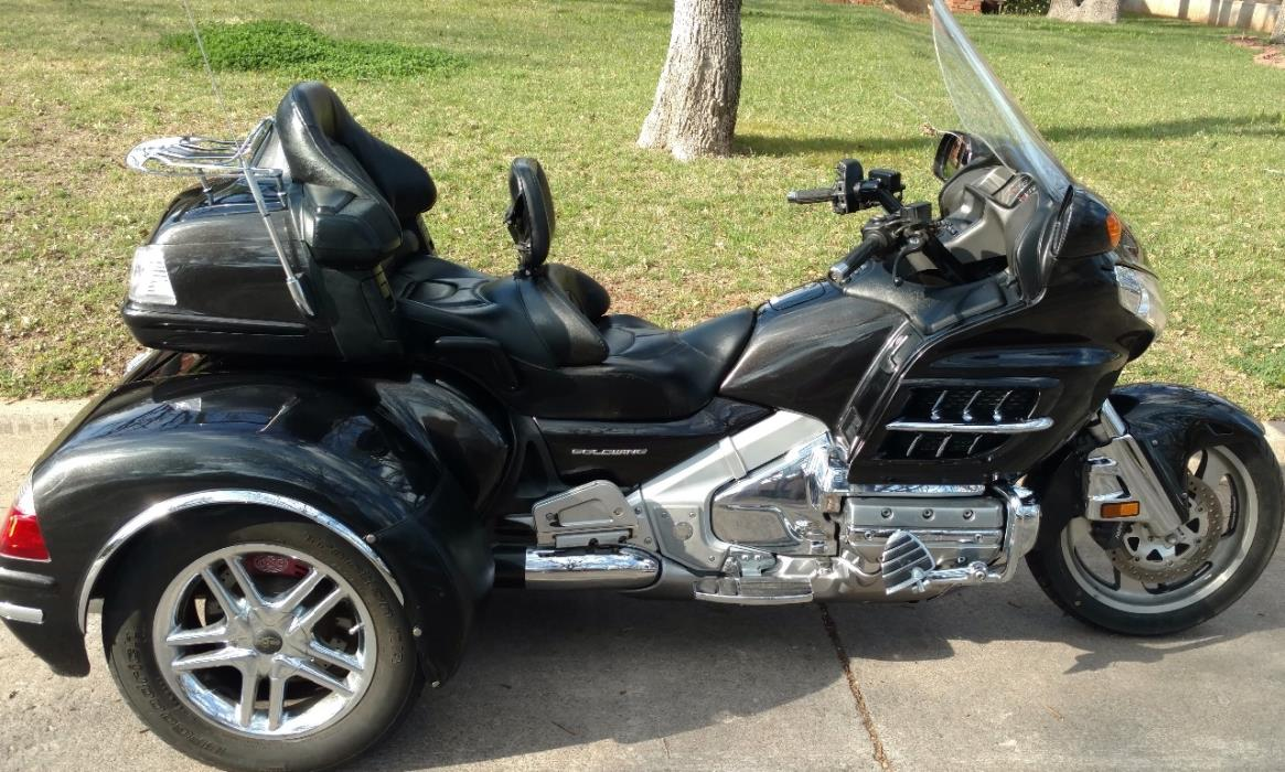 Honda Gold Wing 1800 Motorcycles For Sale In Oklahoma 1970 Silver 2007