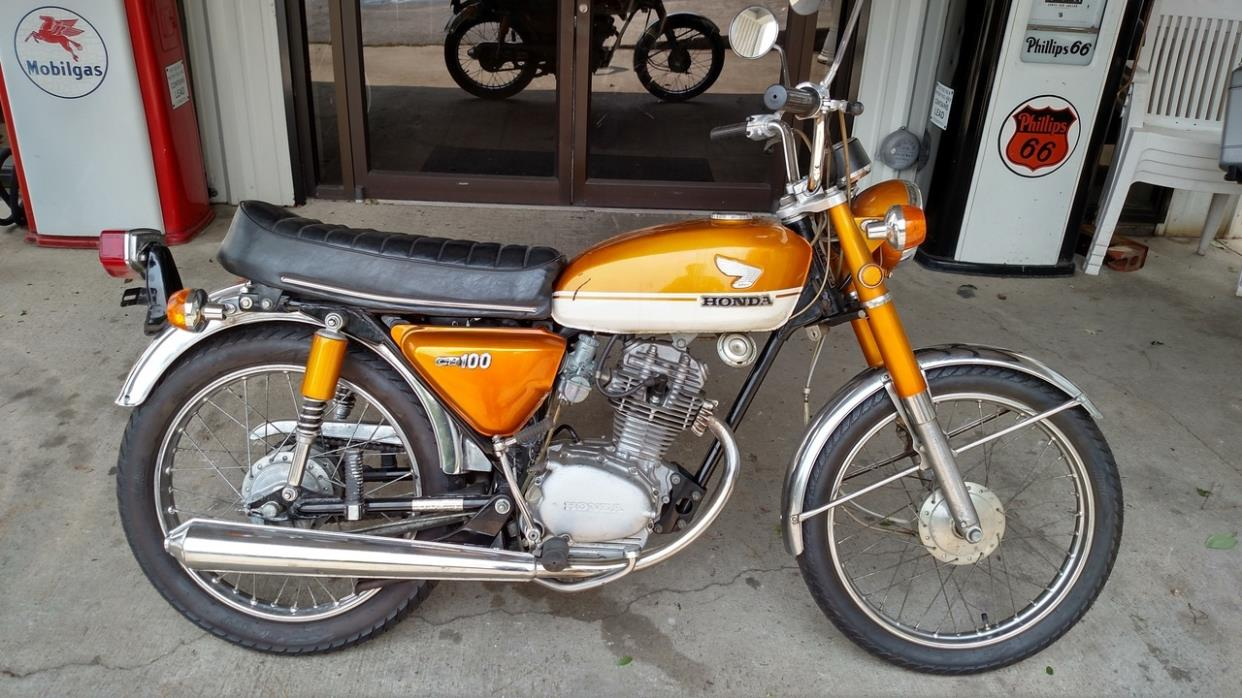 1972 Cb100 Honda Motorcycles for sale