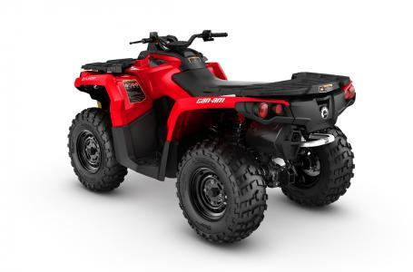 2017 Can-Am 2017 Can-Am Outlander 650 - Viper Red