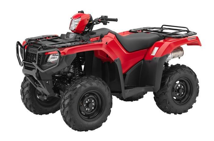 2016 Honda FOURTRAX FOREMAN RUB