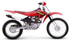 2002 Honda XR100R