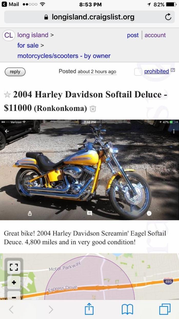 Craigslist Motorcycle New York Long Island | Cardbk co