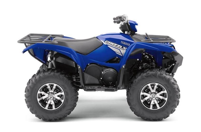 2017 Yamaha GRIZZLY 700 EPS w/ aluminum wheels