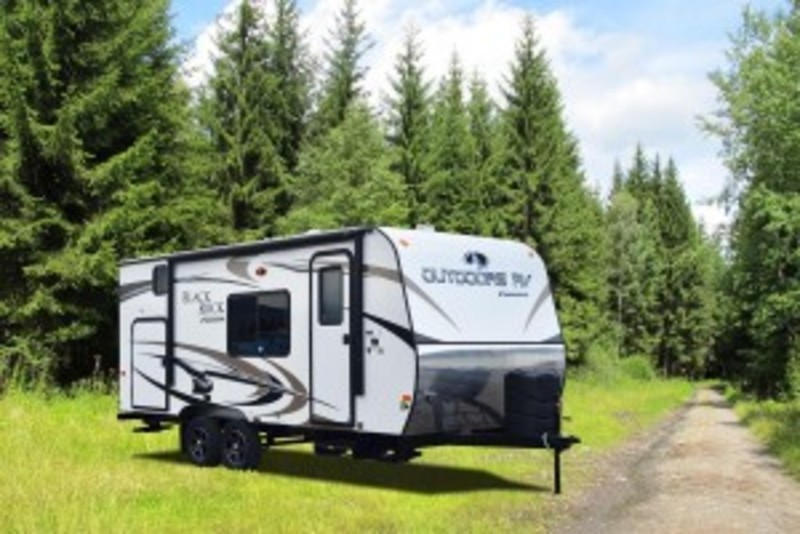 2017 Outdoors Rv Back Country Series Black Rock 18DB