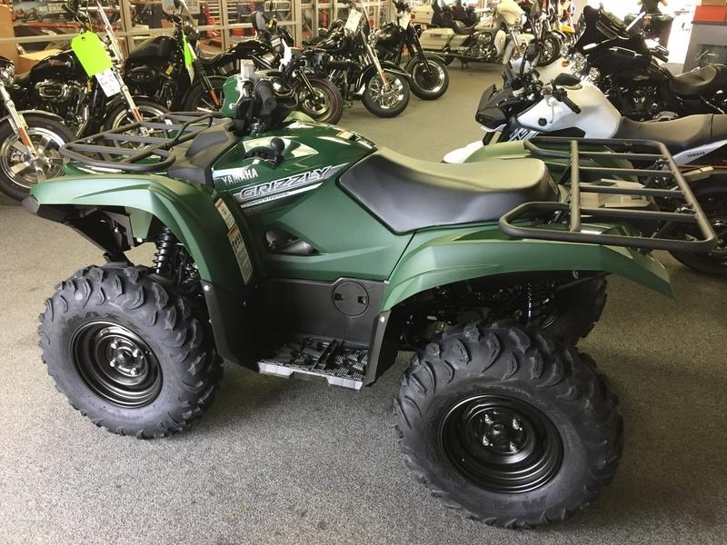 2017 Yamaha Grizzly EPS Hunter Green