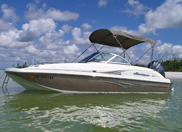 2006 Hurricane SunDeck 195 OB