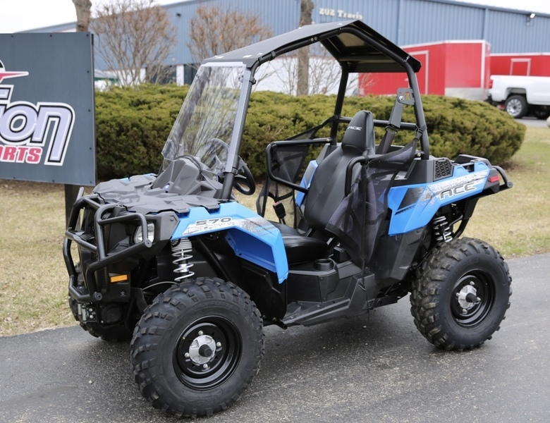 polaris ace 570 voodoo blue motorcycles for sale in wisconsin. Black Bedroom Furniture Sets. Home Design Ideas