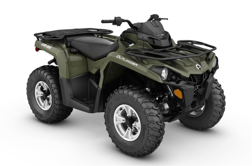 2017 Can-Am 2WHD OUTLANDER DPS 450