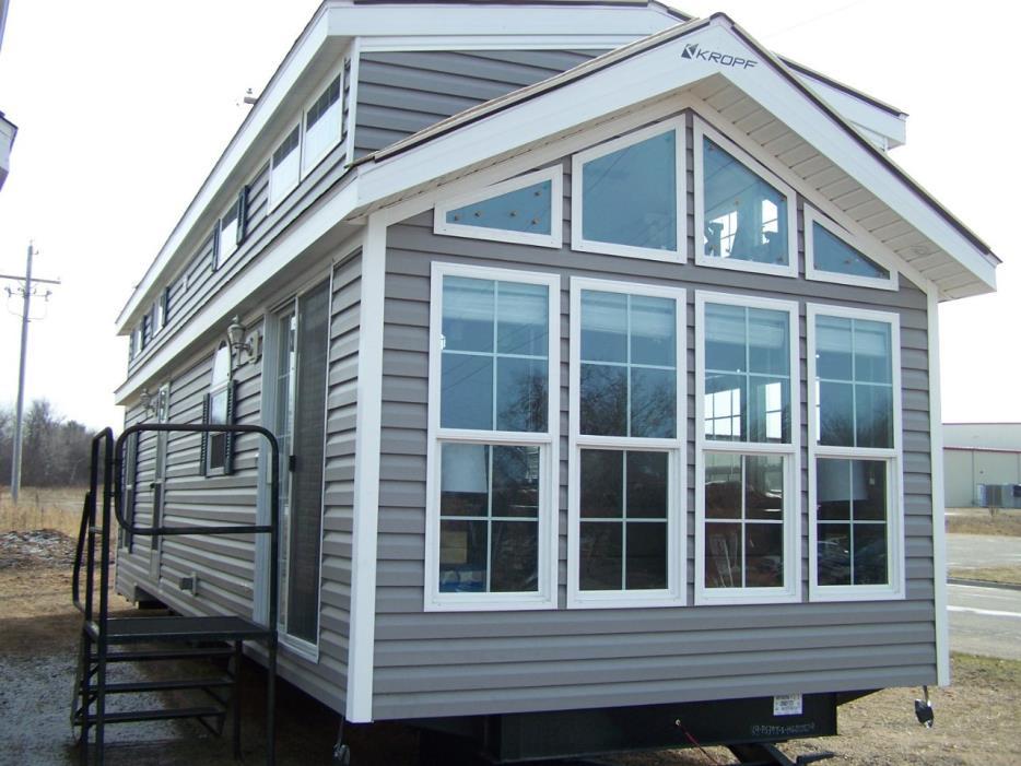 2017 Kropf 5033 Island Double Loft Gray