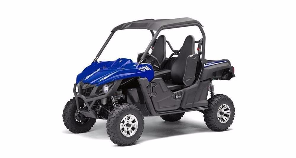 2017 Yamaha Wolverine R Spec EPS w Aluminum Wheels