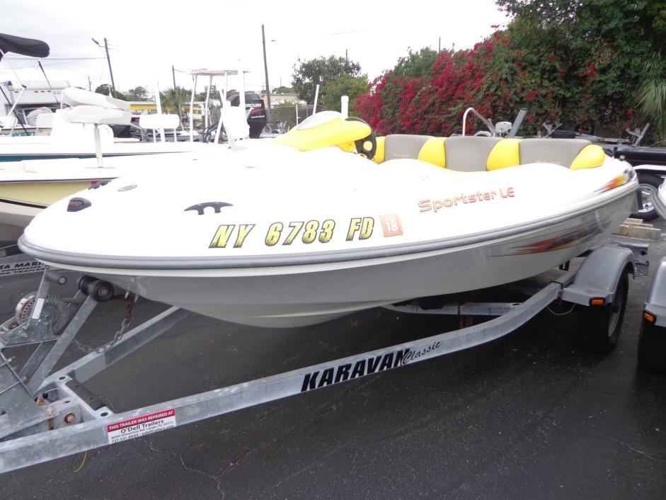2004 Sea-Doo Sport Boats Sportster LE DI