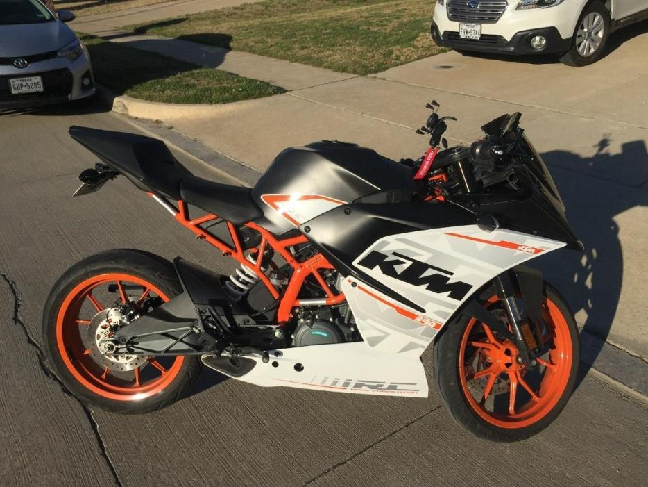 Ktm Rc390 Motorcycles For Sale In Texas