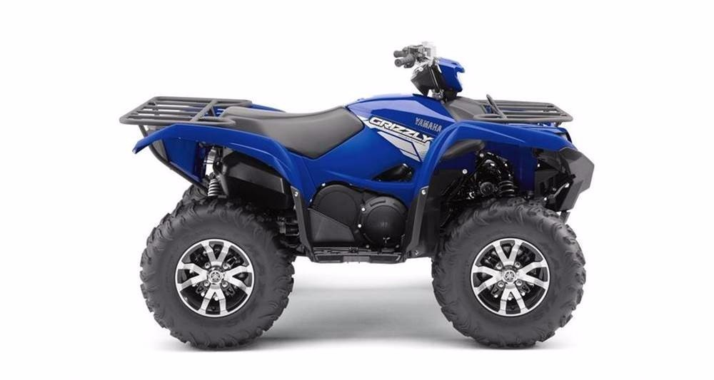 2017 Yamaha Grizzly EPS w Aluminum Wheels
