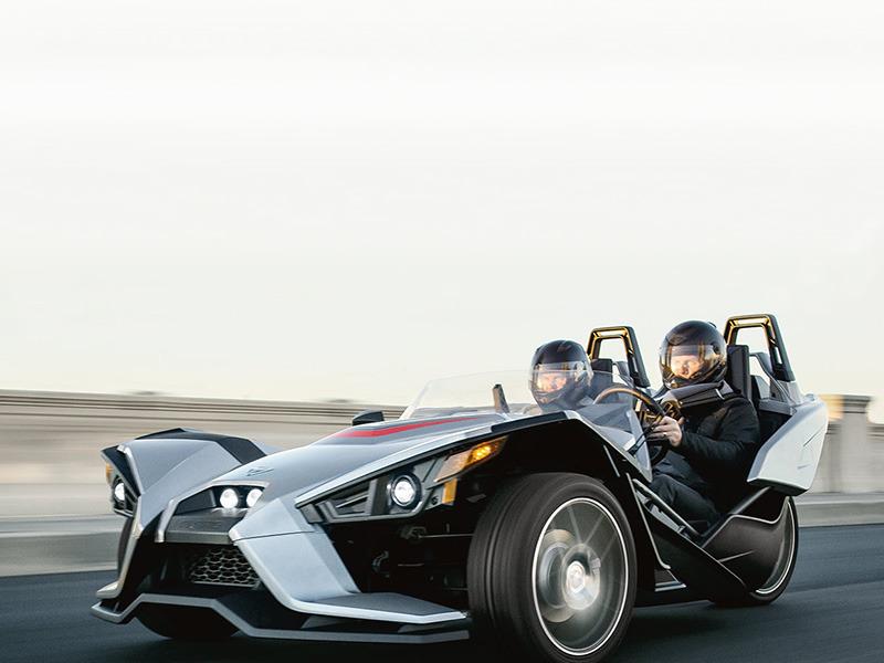 2016 Polaris Slingshot Reverse Trike SL Turbo Silver