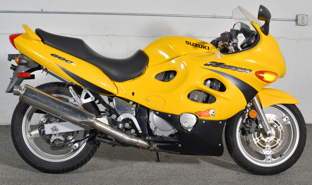 2001 Suzuki Katana 600 Motorcycles for sale