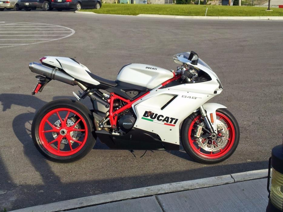 ducati superbike 848 motorcycles for sale in ohio
