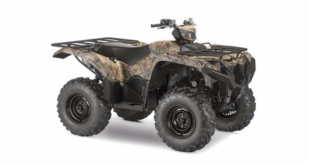 2017 Yamaha Grizzly EPS - Realtree Xtra