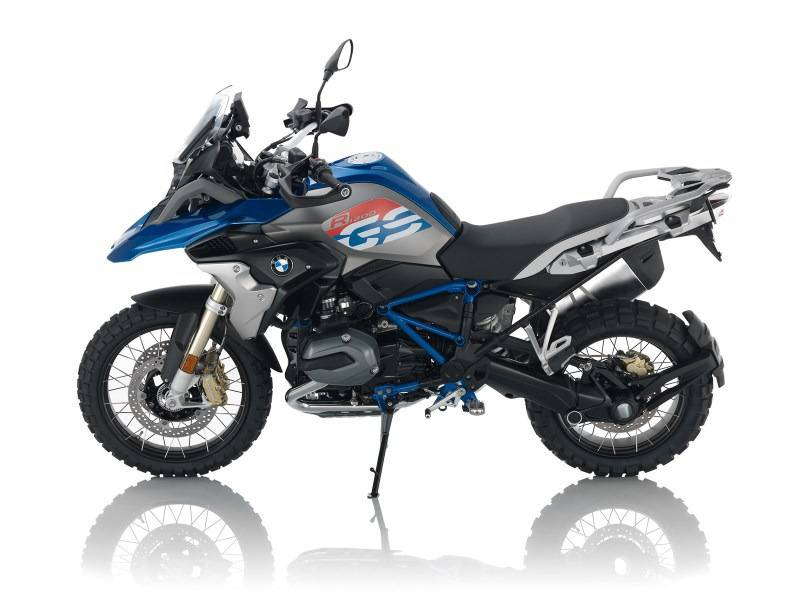 2017 BMW R 1200 GS Rally Premium Lupin Blue / Light Gey Metallic