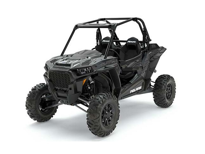 2017 Polaris RZR XP Turbo EPS Titanium Matte Metallic