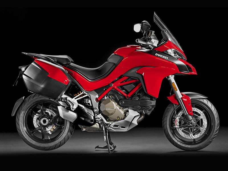 2016 Ducati Multistrada 1200 S Touring Package Ducati Red